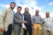 Consegna delle chiavi del nuovo campo di football americano e rugby di San Bartolo a Cintoia
