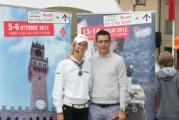 Giulia Sergas con Pietro Piller Cottrer