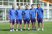 Cristian Llaama, Borja Valero,Vincenzo Montella, Manuel Pasqual, Alberto Aquilani