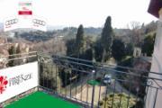 La suggestiva 'buca' dalla terrazza di Villa Bardini a Firenze
