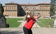 La golfista Federica Dassù