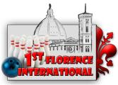 Logo del torneo Internazionale di bowling '1st Florence International'
