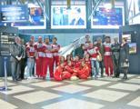 Aeroporto Firenze Rugby all'inaugurazione de l'angolo del volo