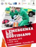 Locandina dell'iniziativa 'L'emergenza nel quotidiano'