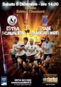 Estra Cavalieri Prato contro lo Stade Francais Paris