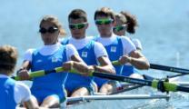 L'equipaggio di Marcaccini alle paralimpiadi di Londra