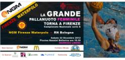 NGM Firenze Waterpolo-Rari Nantes Bologna
