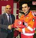 Consegna Defibrillatore all'Associazione di San Donnino
