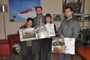 Consegnati i calendari 2013 di Lettera8