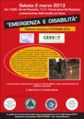 Emergenza e disabilità