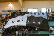 Il tifo del Valdarno Volley. Foto Rocco Caprella