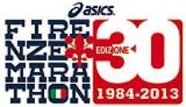 Il logo per i 30 anni della Firenze Marathon