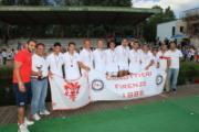 Nella Foto: Canottieri - l'otto campione d'Italia Under 23 - 2012