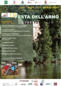 Locandina della Festa dell'Arno a Marina di Candeli
