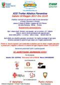 Volantino del XIII Trofeo Atletica Fiorentina