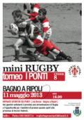 Locandina del torneo di minirugby per la categoria Under 8 presso gli impianti sportivi 'I Ponti'