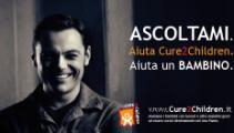 Tiziano Ferro per la Fondazione Cure2Children