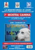 Locandina della 7a Mostra canina della Misericordia di Legri