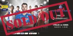 World League Italia-Cuba sold out