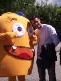 Manuel Pasqual con Wiggy