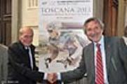 Montecatini Terme presenta le sue gare del Mondiale. Foto Rosellini