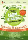 Manifesto della mostra CAMPI… NATURALMENTE