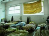 Dormitorio di rifugiati