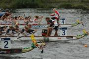 Coppa Italia di dragon boat in Arno