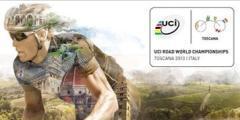 Banner dei Mondiali di Ciclismo Toscana 2013