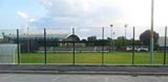 """Il nuovo scorcio  del campo """"Mario Lodigiani adesso visibile dal Viale Paoli attraverso la nuova recinzione a vista"""