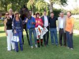 La premiazione di Meracus e di Nicola Pinna vincitori del Premio Toscana 2010
