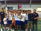 Sancat prima classificata Under 14