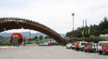 Bandiere abbrumate all'autodromo del Mugello