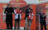Sergio Marchionne all'autodromo del Mugello