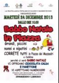 Babbo Natale in piazza