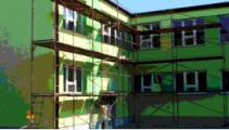 Edificio scolastico (Foto Legambiente)