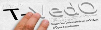 Logo T-Vedo Ricostruzione tridimensionale per non vedenti di opere d'arte pittoriche