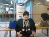 Irene Todarello, due volte bronzo e un argento