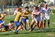 Burattin attacca la linea difensiva pisana. Foto: Paolo Matteoni