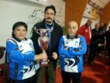 L'assessore Giancaterino e il sindaco premiano gli atleti