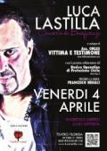 Locandina del concerto di Luca Lastilla a favore della onlus Vittima e Testimone
