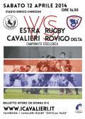 Estra I Cavalieri Prato Rugby-Rovigo