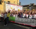 La partenza dell'Avon Running 2014