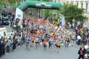Partenza Maratonina di Prato