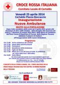nuove ambulanze della Croce Rossa