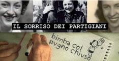 Immagine dal manifesto della mostra 'Il sorriso dei partigiani'