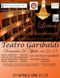 Locandina del concerto Pro Calcit