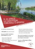 25 aprile alla Canottieri Comunali