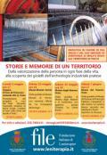 Locandina dell'iniziativa 'Storie e memorie di un territorio'