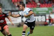 Estra I Cavalieri Prato contro il Rugby Reggio